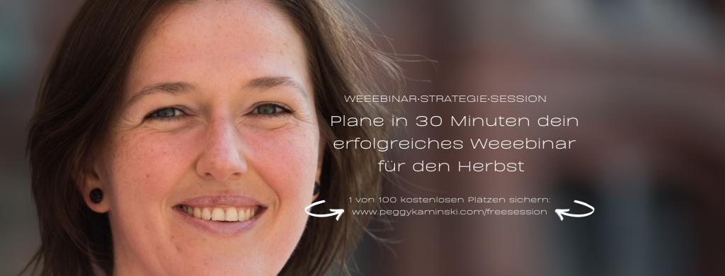 Weeebinar-Strategie-Session